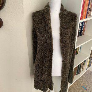 Medium White Stag Brown Sweater